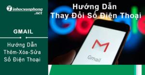 Cách thay đổi số điện thoại Gmail