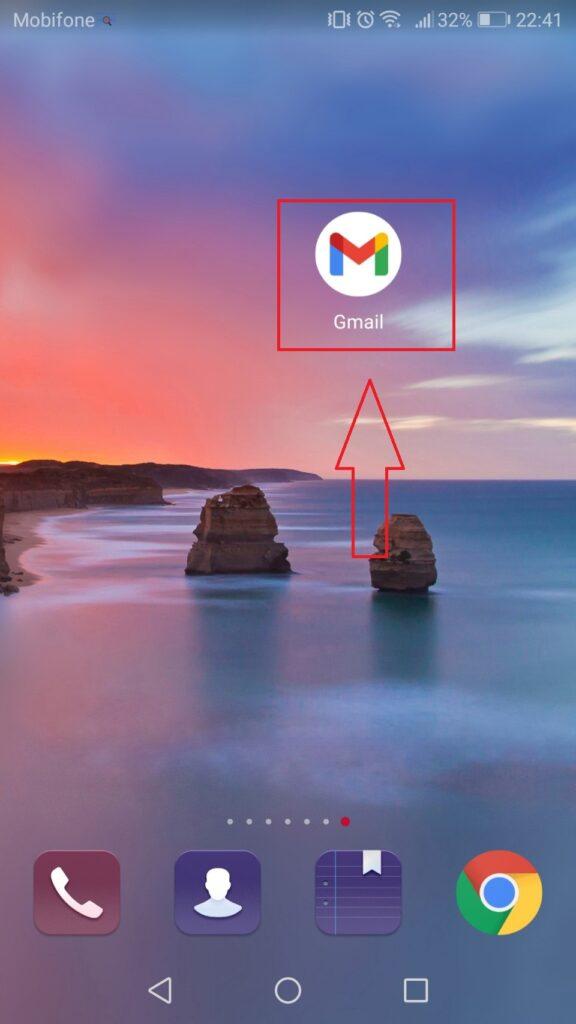 Đăng nhập Gmail - Mobile - Home