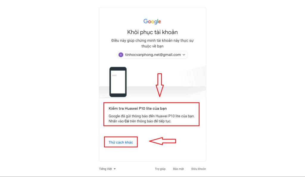 Quên mật khẩu Gmail - Cách khôi phục tài khoản Google