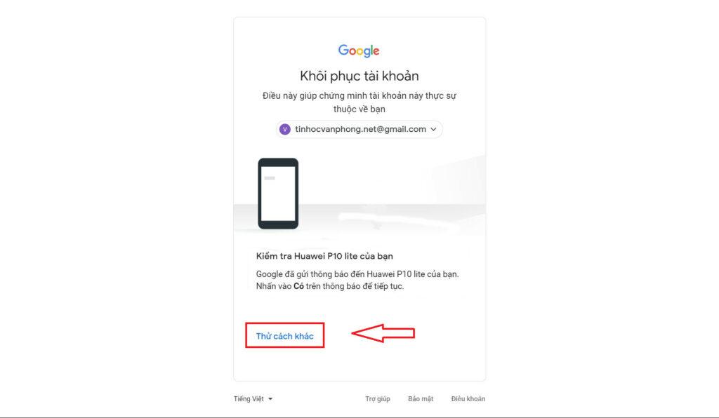 Quên mật khẩu Gmail - Cách khôi phục tài khoản Google - Xác minh số điện thoại
