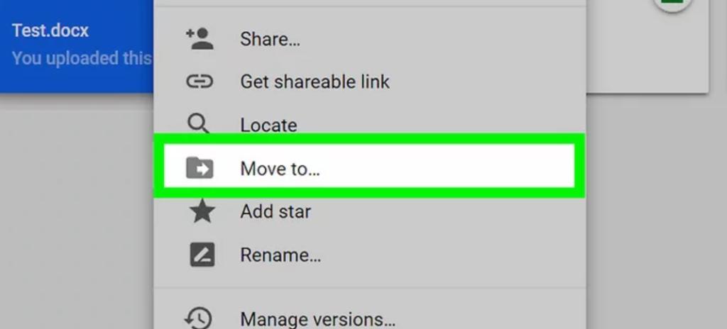 copy thư mục trên google drive - move to