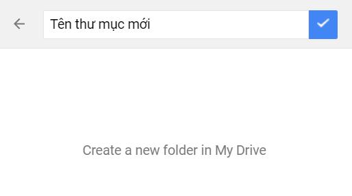 copy thư mục trên google drive - nhập tên thư mục