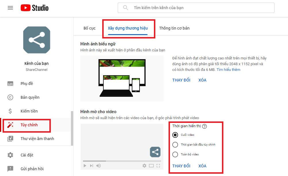 Cách tạo nút đăng ký kênh Youtube