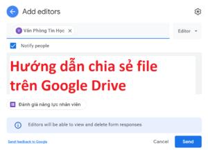 hướng dẫn cách chia sẻ file trên google drive - featured