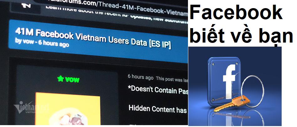 Facebook biết về bạn và có thể biết bạn là người như thế nào?