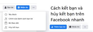 kết bạn trên Facebook