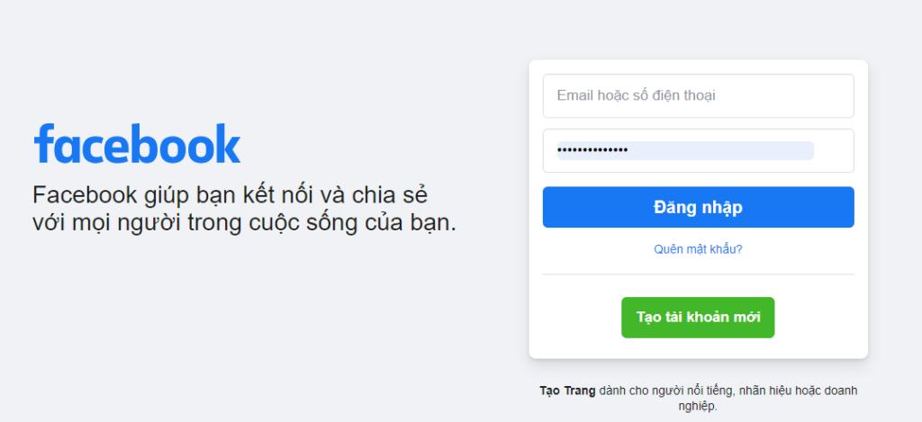 Bạn quên mật khẩu Facebook, hãy thử đăng nhập với một mật khẩu nào đó