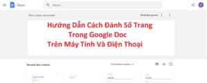 hướng dẫn đánh dấu trang trong google doc