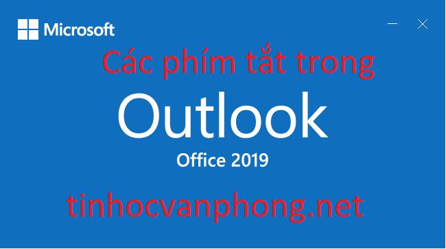 Các phím tắt trong Outlook