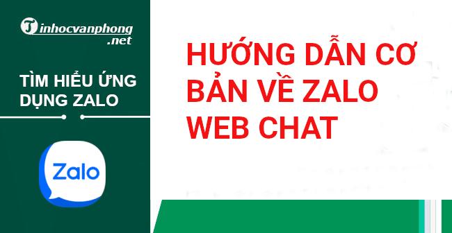Zalo web chat