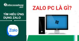 Zalo pc là gì